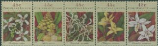 CHI SG392a Orchids strip of 5